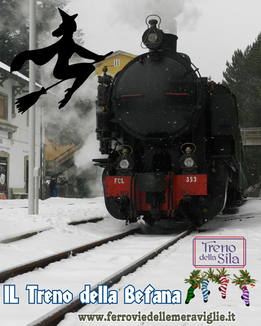 Il treno della Befana