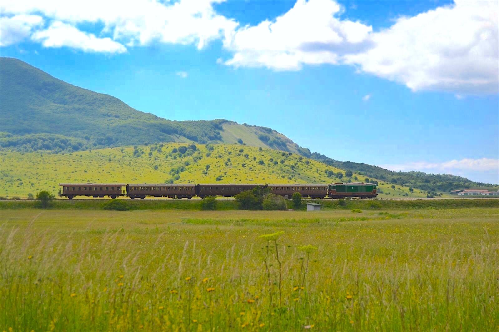Treni dell'Estate - partenza da Sulmona