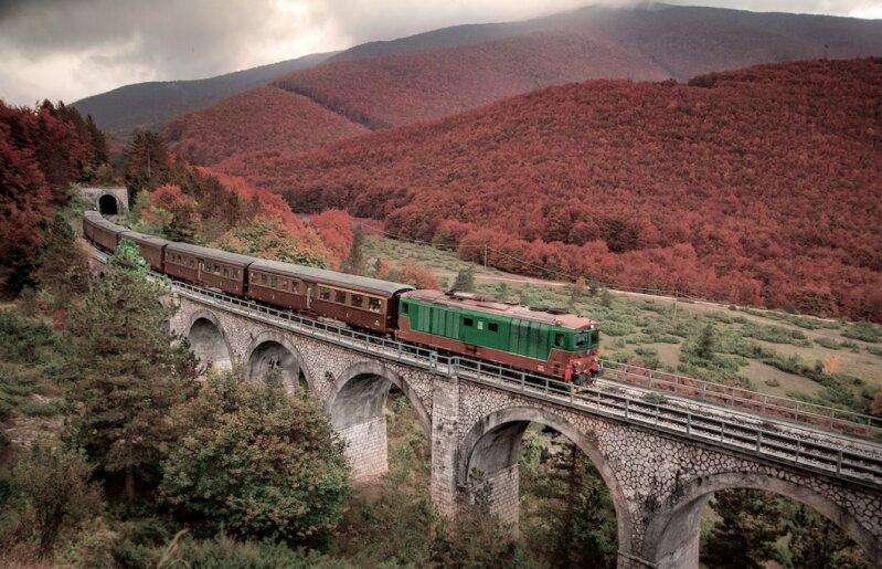 Treni d'Autunno - partenza da Sulmona