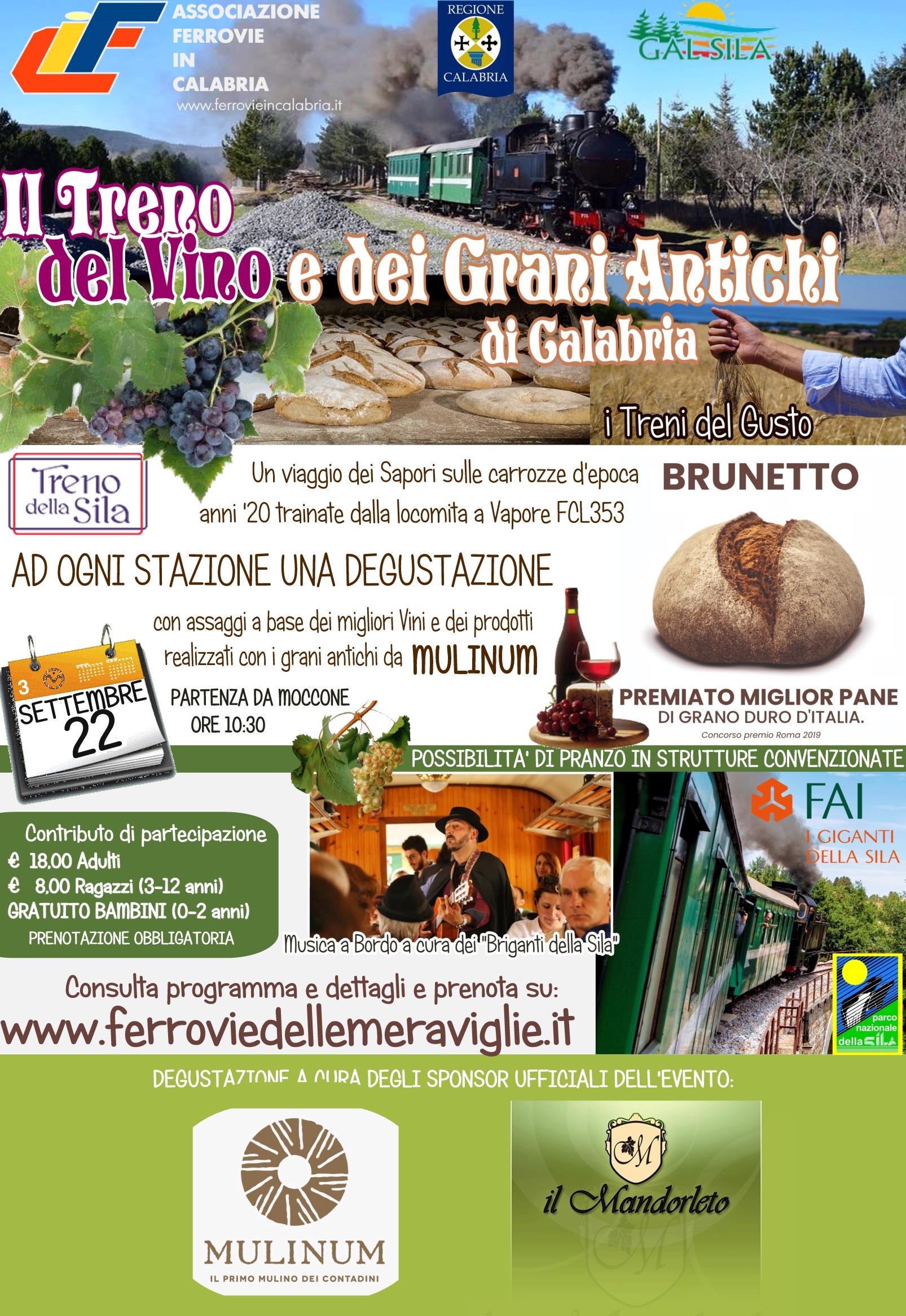 Il Treno del Vino e dei Grani Antichi di Calabria II