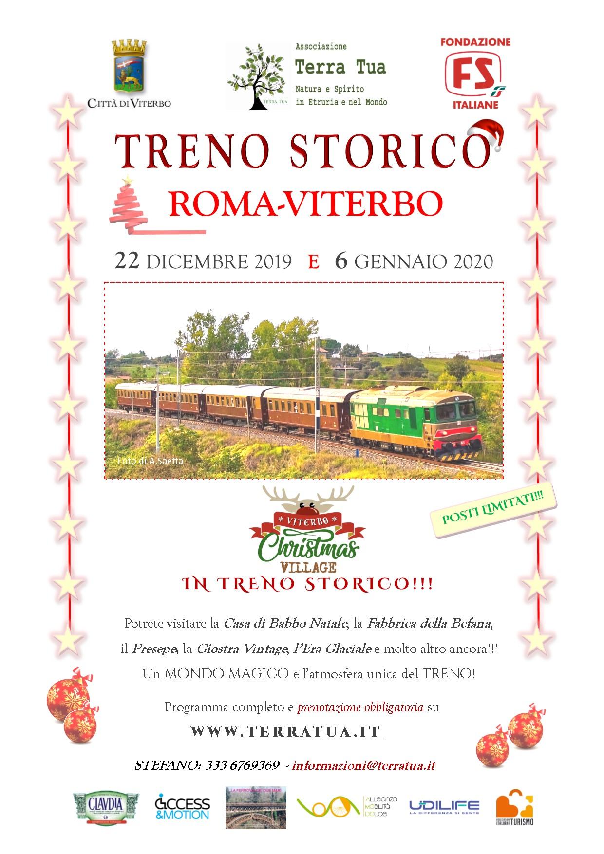 Treno storico Roma-Viterbo
