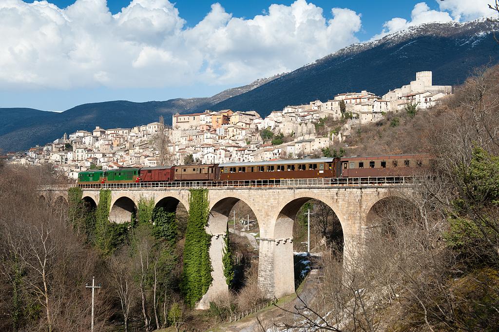 in viaggio sulla Transiberiana d'Italia